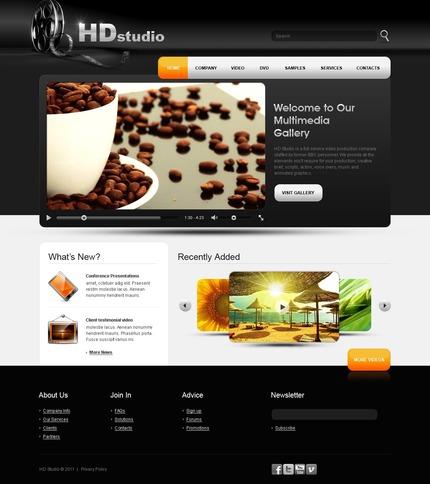 PSD макет сайта №56414