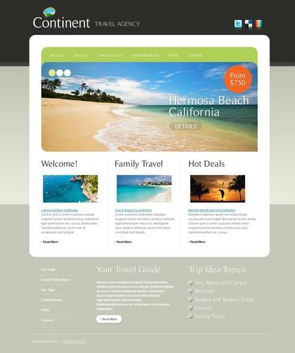 PSD макет сайта №56415