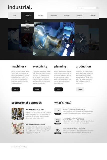 PSD макет сайта №56432