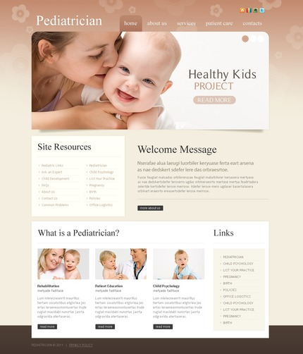 PSD макет сайта №56435