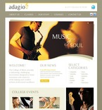 56436 Music, Education, Full Site, CSS, Most Popular, Wide Templates, jQuery Templates, HTML 5 PSD Templates