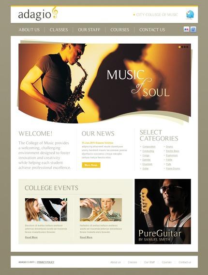 PSD макет сайта №56436