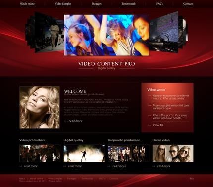 PSD макет сайта №56454