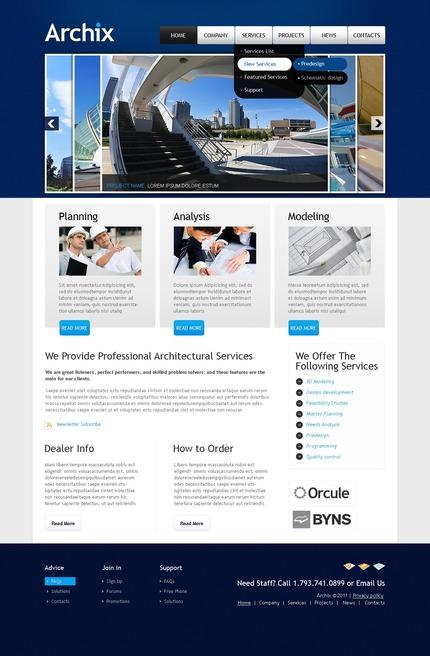 PSD макет сайта №56469