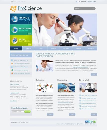 PSD макет сайта №56482