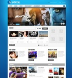 56486 Media, CSS, Wide Templates, jQuery Templates PSD Templates