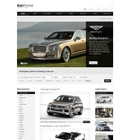 56487 Portal, Cars, CSS, Wide Templates, jQuery Templates PSD Templates