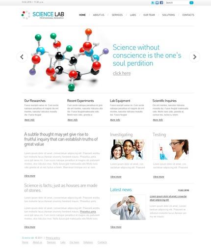 PSD макет сайта №56489