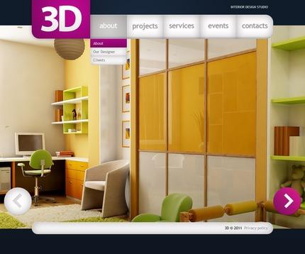 PSD макет сайта №56549