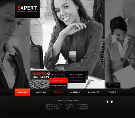 PSD макет сайта №56554