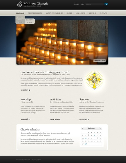 Website template 56555