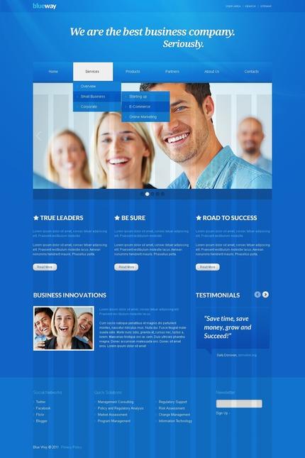 PSD макет сайта №56567