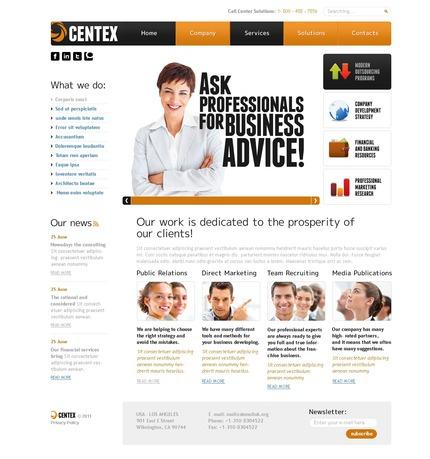 PSD макет сайта №56571