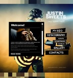 56626 Music, Full Site, Personal Pages, CSS, Wide Templates, jQuery Templates, HTML 5, Full JS Animated Templates PSD Templates