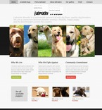 56720 Animals & Pets, Full Site, CSS, Wide Templates, jQuery Templates, HTML 5 PSD Templates