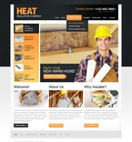 56727 Industrial, Full Site, CSS, Flash 8, Wide Templates, Maintenance Services, HTML 5 PSD Templates