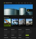 56750 Industrial, Full Site, CSS, Wide Templates, jQuery Templates, HTML 5 PSD Templates