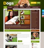 56764 Animals & Pets, CSS, Wide Templates, jQuery Templates, HTML 5 PSD Templates