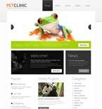 56807 Flowers, Animals & Pets, Full Site, CSS, Wide Templates, HTML 5 PSD Templates