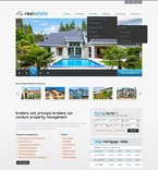 56823 Real Estate, Full Site, CSS, Wide Templates, jQuery Templates, HTML 5 PSD Templates