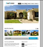 56847 Real Estate, Full Site, CSS, Wide Templates, jQuery Templates, HTML 5 PSD Templates