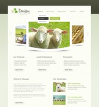 56858 Agriculture, Animals & Pets, Full Site, CSS, Wide Templates, HTML 5 PSD Templates