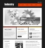 56891 Industrial, Full Site, CSS, Most Popular, Wide Templates, jQuery Templates, HTML 5 PSD Templates
