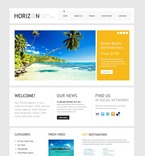 56921 Travel, Full Site, CSS, Wide Templates, jQuery Templates, HTML 5 PSD Templates