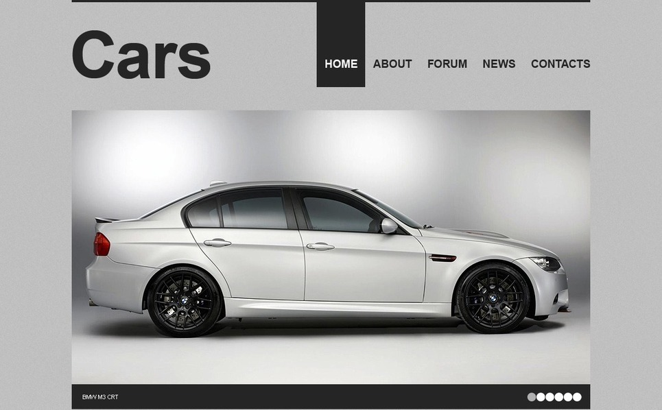 Car PSD Template New Screenshots BIG