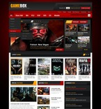 56960 Flash Animated, Games, CSS, Flash 8, Wide Templates, HTML 5 PSD Templates