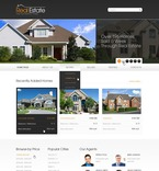 56997 Real Estate, Full Site, CSS, Wide Templates, HTML 5 PSD Templates
