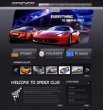 57026 Cars, Full Site, CSS, Wide Templates, jQuery Templates, HTML 5 PSD Templates