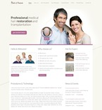 57031 Beauty, Medical, Full Site, CSS, Wide Templates, jQuery Templates, HTML 5 PSD Templates