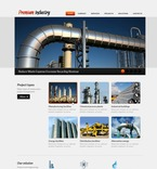 57079 Industrial, Full Site, CSS, Wide Templates, jQuery Templates, HTML 5 PSD Templates