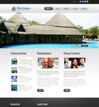 57093 Travel, Full Site, CSS, Flash 8, Wide Templates, HTML 5 PSD Templates