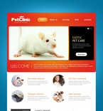 57102 Animals & Pets, Full Site, CSS, Wide Templates, HTML 5 PSD Templates