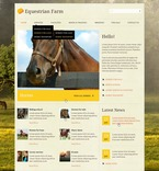 57108 Animals & Pets, Full Site, CSS, Wide Templates, jQuery Templates, HTML 5 PSD Templates