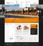 57142 Travel, Full Site, CSS, Flash 8, Wide Templates, HTML 5 PSD Templates