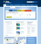 57154 Travel, Full Site, CSS, Wide Templates, jQuery Templates, HTML 5 PSD Templates