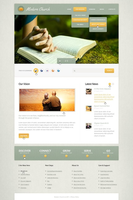 Website template 57167