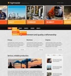 57187 Industrial, Full Site, CSS, Wide Templates, jQuery Templates, HTML 5 PSD Templates