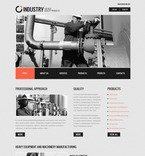 57199 Industrial, Full Site, CSS, Wide Templates, jQuery Templates, HTML 5 PSD Templates