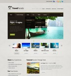 57208 Travel, Full Site, CSS, Wide Templates, jQuery Templates, HTML 5, Extended Package Templates PSD Templates