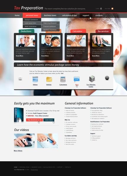 Website template 57220