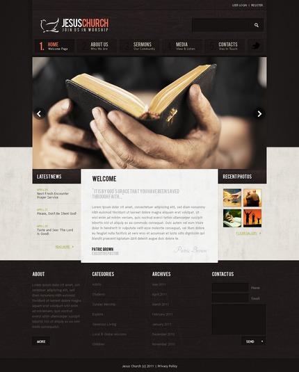 Website template 57224