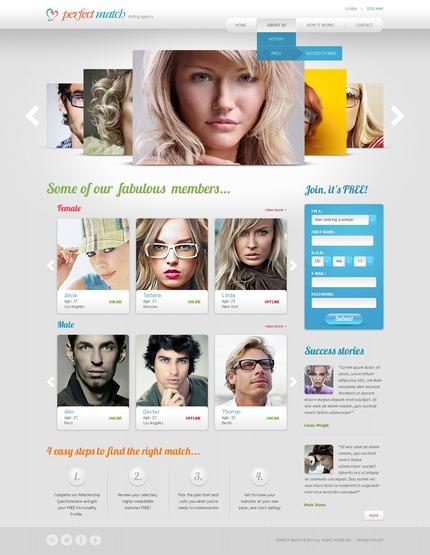 Website template 57225
