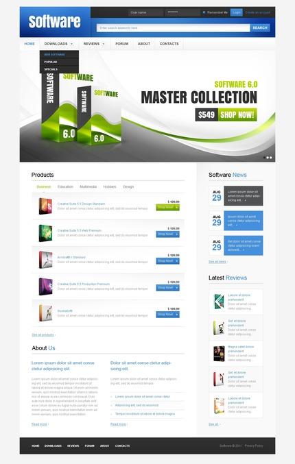 Website template 57227