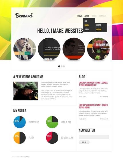 Website template 57233