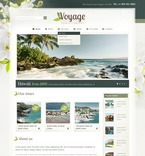 57234 Travel, Full Site, CSS, Wide Templates, jQuery Templates, HTML 5, Extended Package Templates PSD Templates