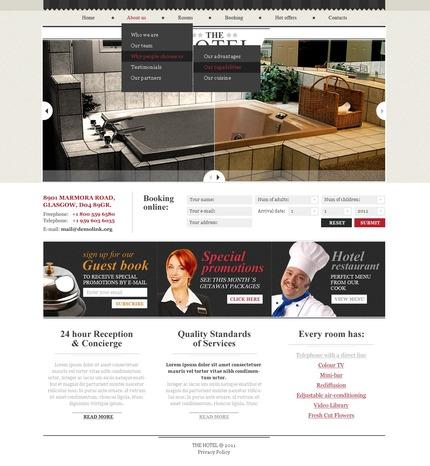 Website template 57238